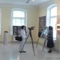 Jūratė Petruškevičienė parodos atidaryme