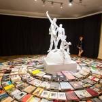 Darius Žiūra, Monumentas utopijai, 2015. Dalyvaujant Viacheslav Kovalenko (Sankt Peterburgas) ir S (Dublinas). Foto: Remio Ščerbausko