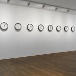 Katie Paterson. LAIKO KŪRINIAI / TIMEPIECES (SAULĖS SISTEMA / SOLAR SYSTEM). 2014. Photo © John McKenzie. Images are courtesy of the artist and Ingleby Gallery, Edinburgh. Curated by Nicolas Bourriaud