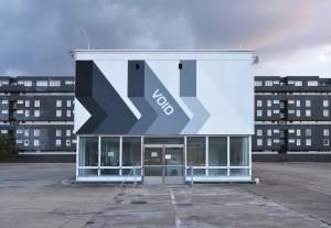"""Konsortium """"Void"""", 2013 Exhibition view """"Gestern die Stadt von morgen"""", Urbane Künste Ruhr in cooperation with Skulpturenmuseum Glaskasten Marl. Photo: Konsortium, 2014"""