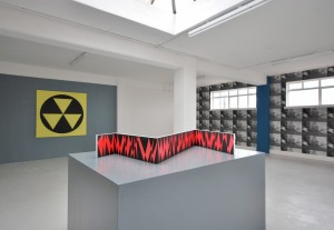 "Konsortium, exhibition view ""Spaceinvader"", 2013 Karst, Plymouth. Photo: Konsortium, 2012"