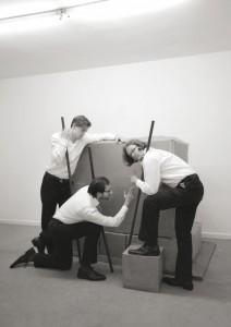 """Konsortium – Lars Breuer, Sebastian Freytag, Guido Münch"", 2013 Photo: Konsortium, 2013"