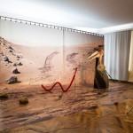 Katja Novitskova, Aktyvavimo modelis (Marso paviršiuje), 2014. Köserio kolekcijos (Kiolnas) nuosavybė. Foto: Remio Ščerbausko