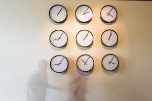 Katie Paterson, Time Pieces (Solar System), 2014. Courtesy of Parafin Gallery and the artist. Photo: Remis Ščerbauskas