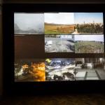 Roberto Cabot, Kaunas Aleph, 2015. Livestream video projection, sound. Photo: Remis Ščerbauskas